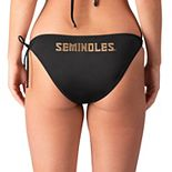 Women's G-III 4Her by Carl Banks Black Florida State Seminoles Without Limits Bikini Bottom
