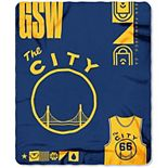 The Northwest Golden State Warriors The City Classic Plush Throw Blanket