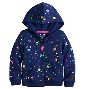 Disney's Minnie Mouse Toddler Girl Fleece Zip-Up Hoodie by Jumping Beans®