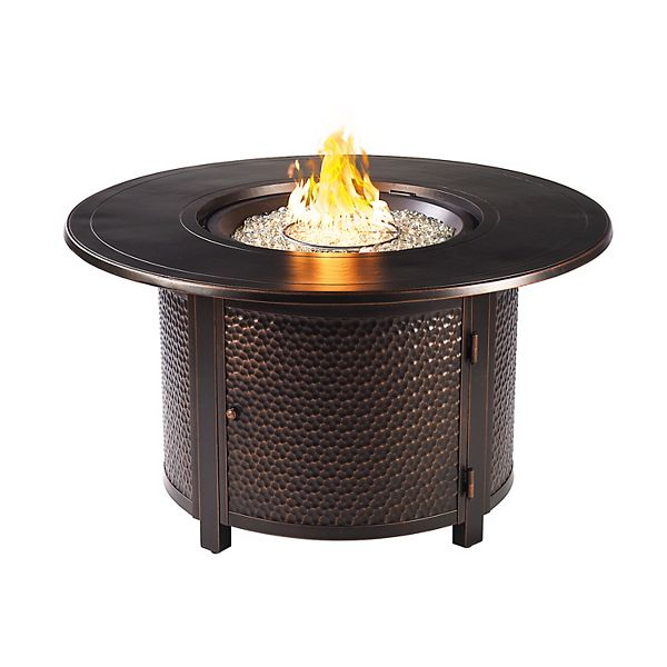 Outdoor Round Propane Fire Table
