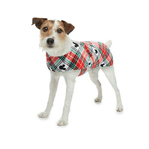 Disney's Mickey Mouse Pet Plaid Pajamas by Jammies For Your Families®