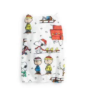 Jammies For Your Families® Peanuts Snoopy Tree One-Piece Pajamas