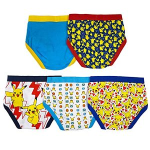 Boys 4-8 Pokemon 5-Pack Briefs Underwear