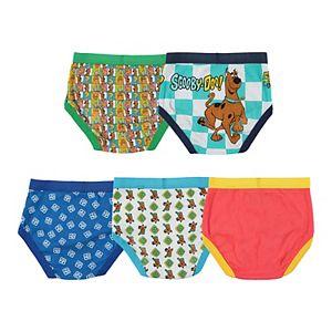 Boys 4-8 Scooby Doo 5-pack Briefs