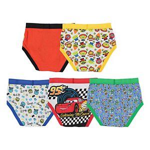 Disney / Pixar's Boys 4-8 5-Pack Briefs Underwear