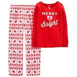 Girls 4-14 Carter's 2-Piece Christmas Pajama Set