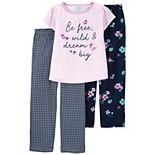 Girls 4-14 Carter's Top & Pants Pajama Set