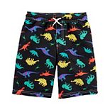 Boys 4-14 Carter's Print Swim Trunks