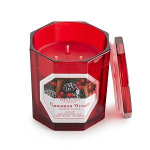 ScentWorx Cinnamon Wreath 14.5 oz. Candle