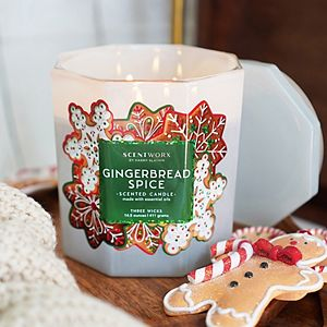 ScentWorx Gingerbread Spice 14.5 oz. Candle