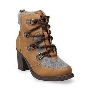 Sonoma Goods For Life® Sugar Glide Women's High Heel Ankle Boots