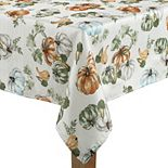 Celebrate Fall Together Pumpkin Toss Tablecloth