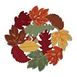Celebrate Fall Together Leaf Cut-Out Placemat