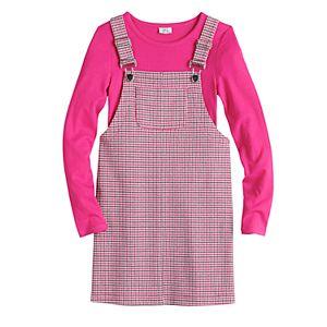 Girls 7-16 & Plus Size Joey B Knit Jumper & Shirt Set
