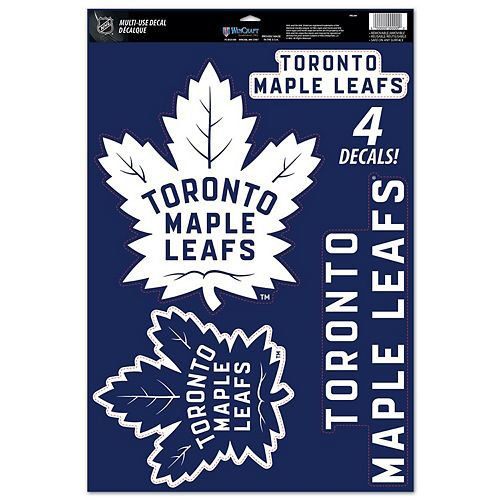 Wincraft Toronto Maple Leafs 11 X 17 Multi Use Decal Sheet
