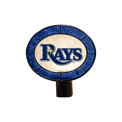 Tampa Bay Rays Art Glass Night-Light