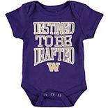 Newborn & Infant Purple Washington Huskies Destined Bodysuit