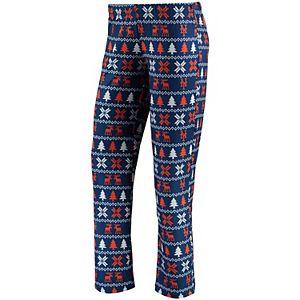 Women's Royal New York Mets Holiday Print Pant