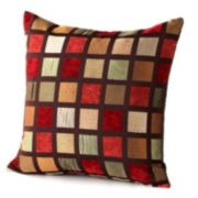 Chenille Plaid Pillow