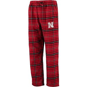Men's Concepts Sport Red Nebraska Cornhuskers Big & Tall Ultimate Flannel Pants