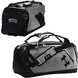 Under Armour Graphite/Black TCU Horned Frogs Good Performance Backpack Duffel Bag
