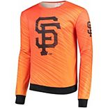 Men's Orange San Francisco Giants Static Rain Pullover Sweater