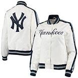 Women's Starter White/Navy New York Yankees Hometown Full-Snap Jacket