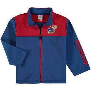 Toddler Colosseum Royal Kansas Jayhawks Clutch Full-Zip Jacket