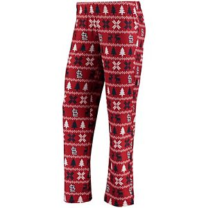 Women's Red St. Louis Cardinals Holiday Print Pant