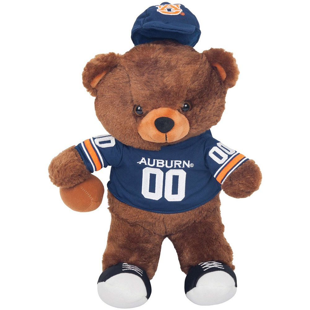 Auburn Tigers Locker Room Buddy Dress Me Plush Bear Kit