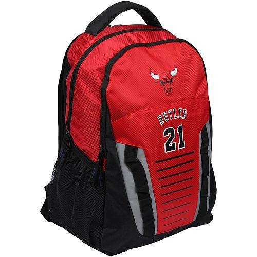 Jimmy Butler Red Chicago Bulls Player Franchise Backpack
