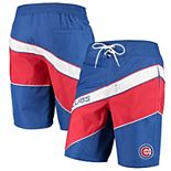 Men's Starter Royal/Red Chicago Cubs Rookie Swim Trunk