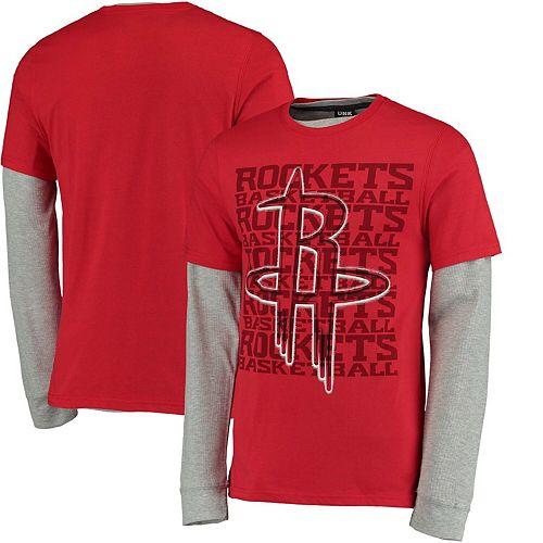 Men's UNK Red Houston Rockets Core T-Shirt Combo Pack