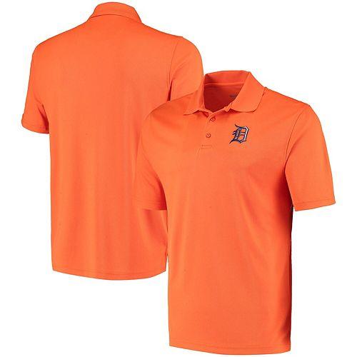 Men's Levelwear Orange Detroit Tigers Omaha One-Hit Polo