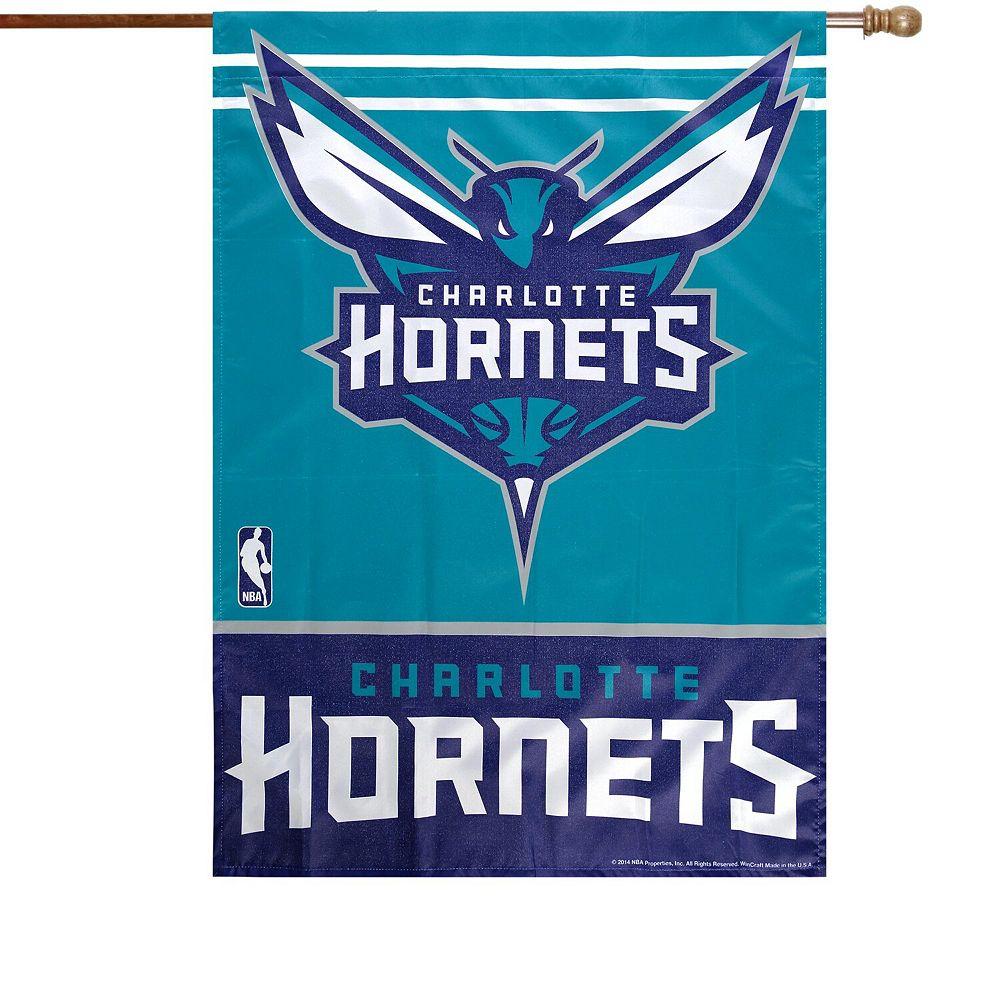 "WinCraft Charlotte Hornets 27"" x 37"" Vertical Banner Flag"