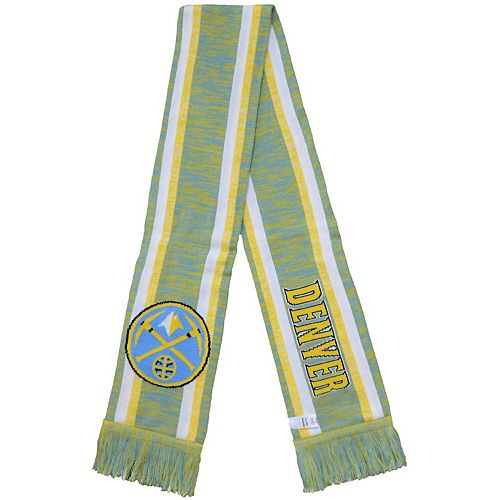 Denver Nuggets Knit Color Blend Scarf