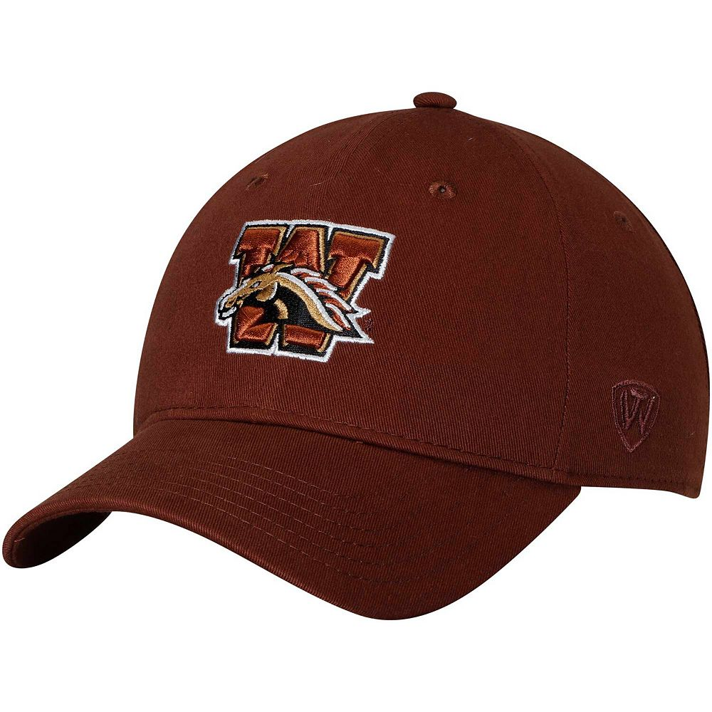 Men's Top of the World Brown Western Michigan Broncos Strike Unstructured Adjustable Hat