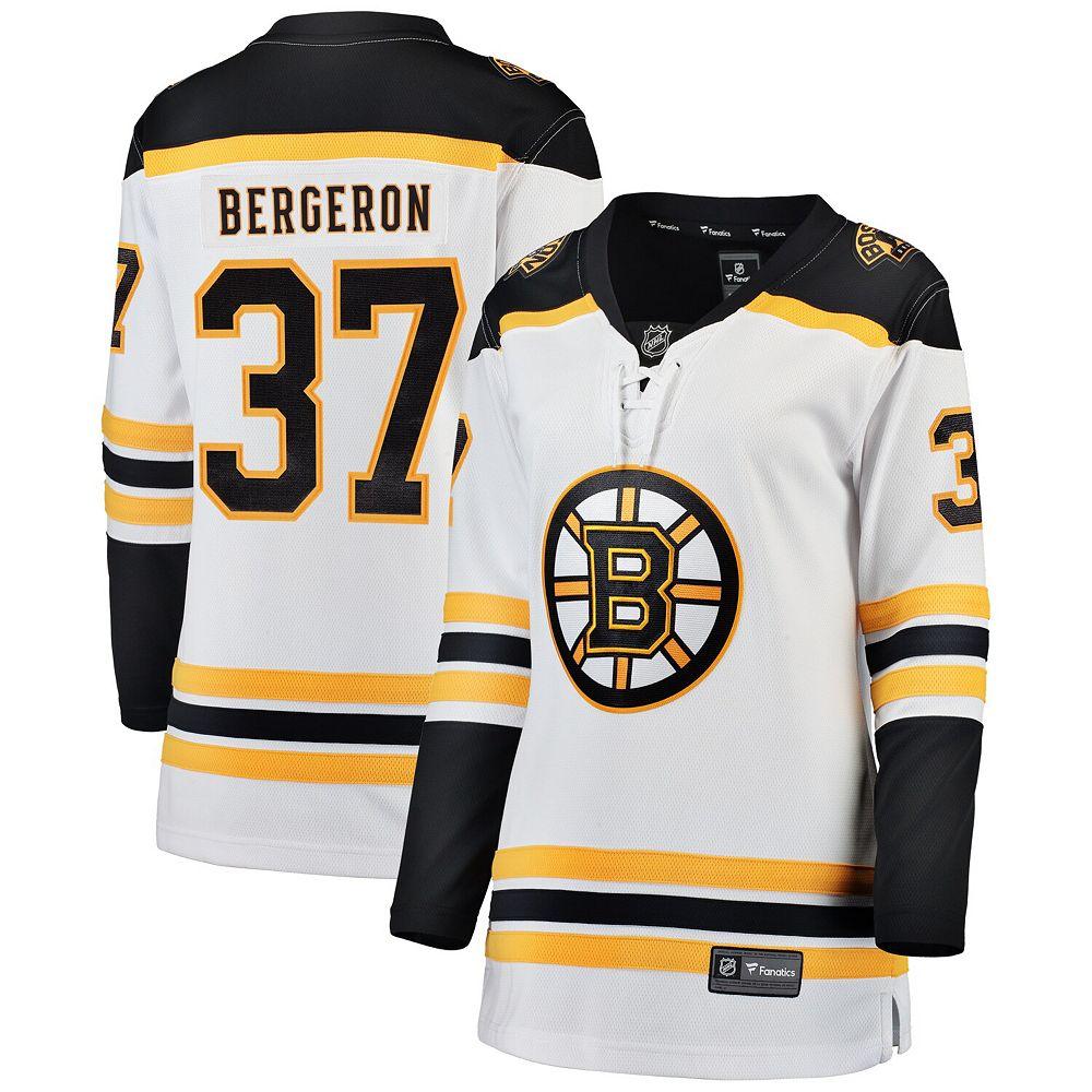 Women's Fanatics Branded Patrice Bergeron White Boston Bruins Breakaway Player Jersey