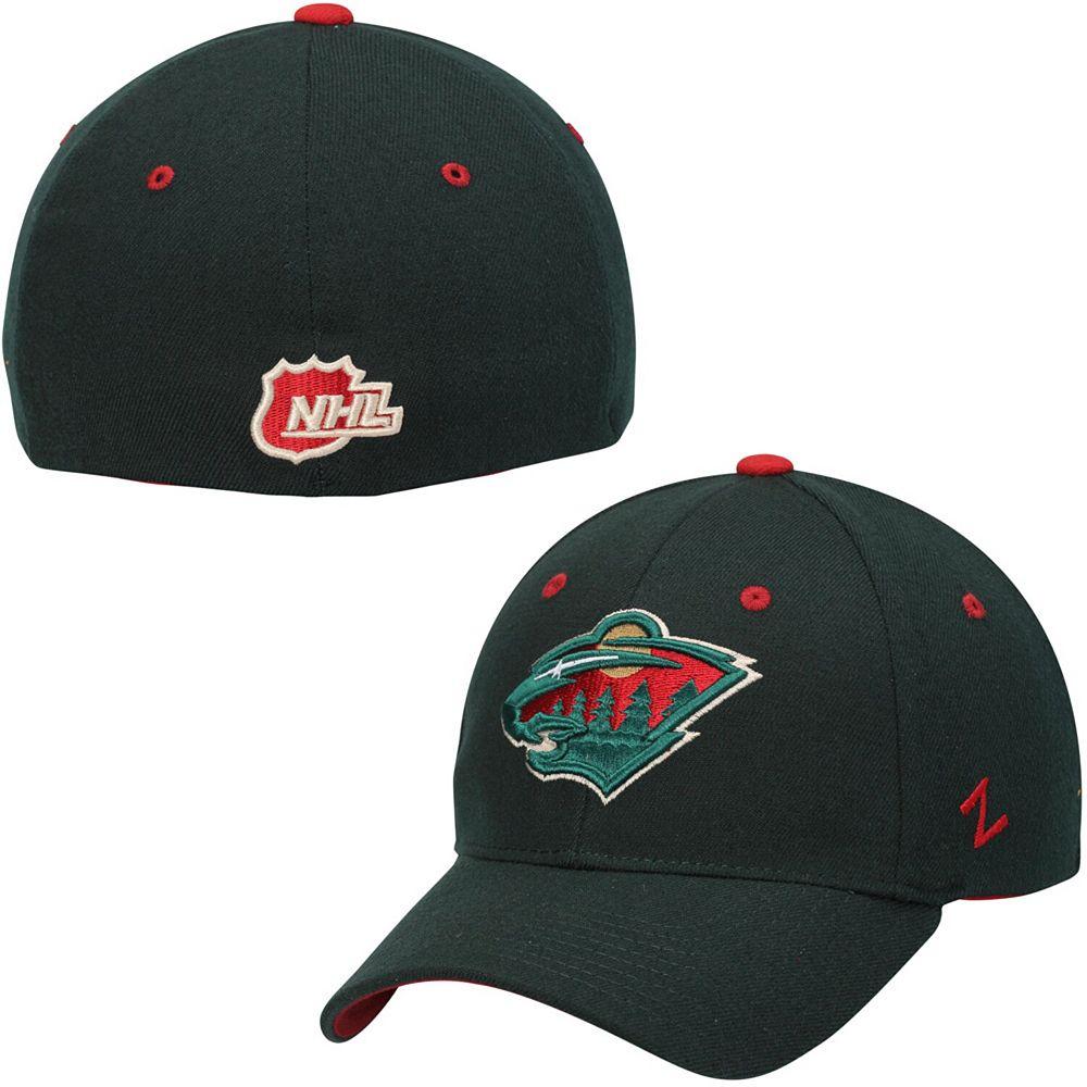 Men's Minnesota Wild Zephyr Green Breakaway Flex Hat