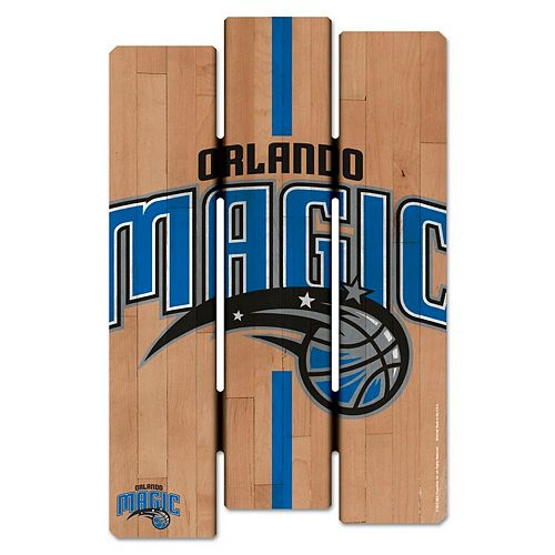 "WinCraft Orlando Magic 11"" x 17"" Fence Wood Sign"