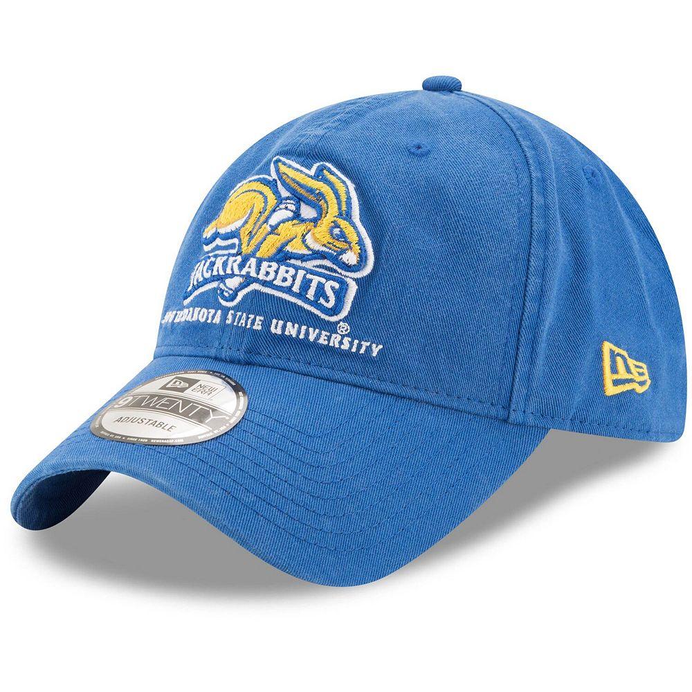 Men's New Era Blue South Dakota State Jackrabbits Core 9TWENTY Adjustable Hat
