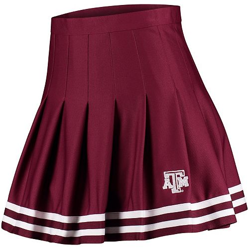 Women's ZooZatz Maroon Texas A&M Aggies Rah Rah Cheer Skirt