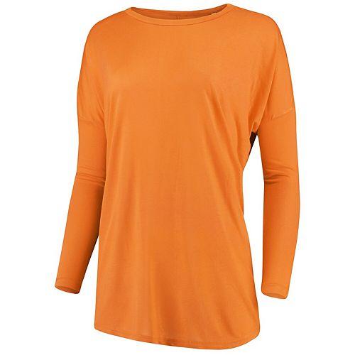 Women's Pressbox Tennessee Orange Campus Crush Long Sleeve Modal Shirt