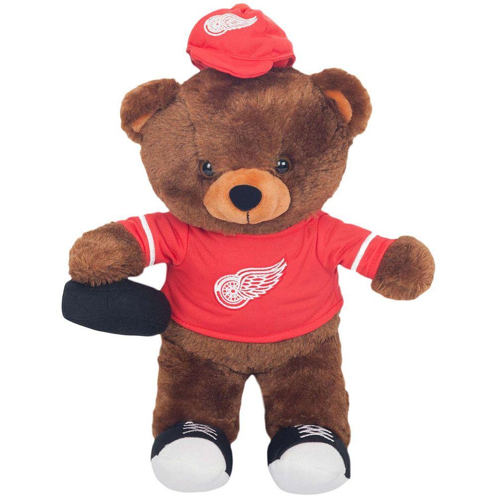 Detroit Red Wings Locker Room Buddy Dress Me Plush Bear Kit