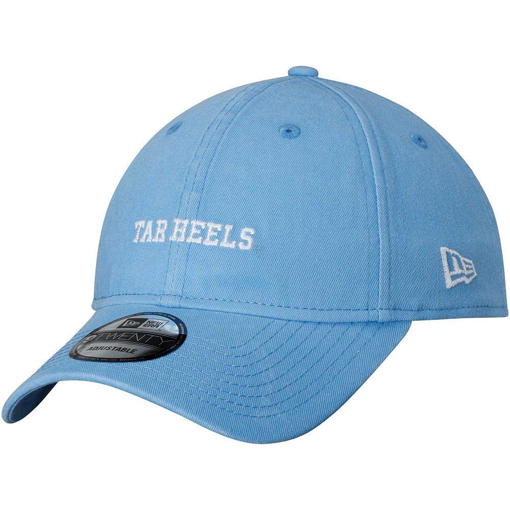 Men's New Era Carolina Blue North Carolina Tar Heels Solid Team Hit 9TWENTY Adjustable Hat
