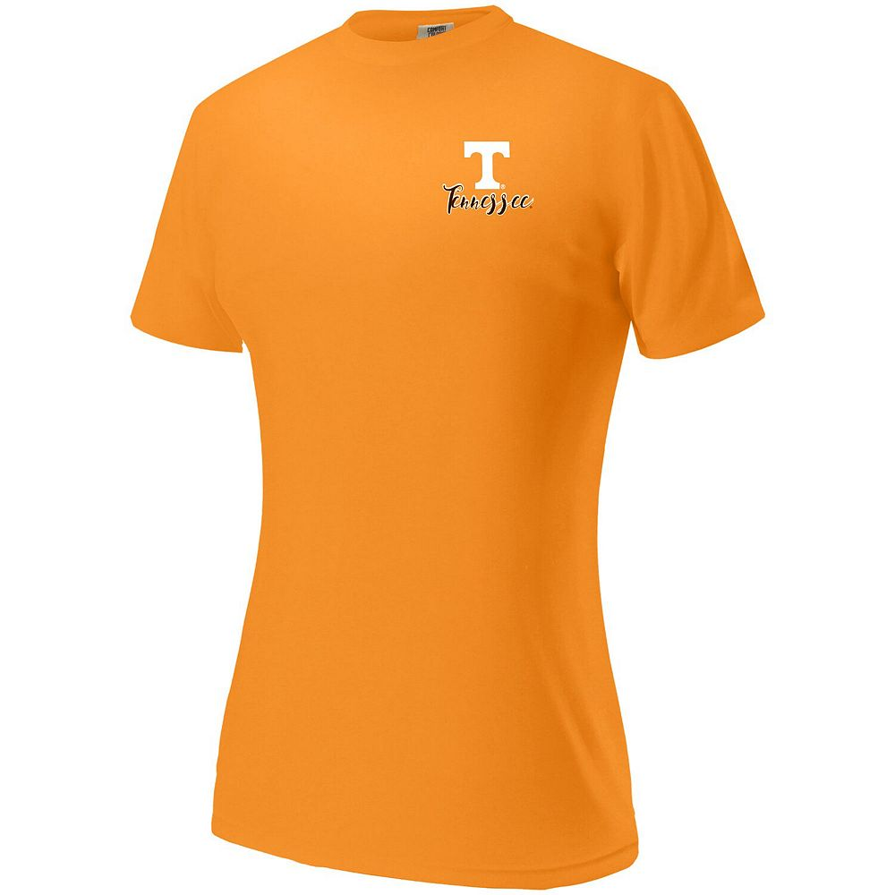Women's Tennessee Orange Tennessee Volunteers Comfort Colors Born in the South Oversized T-Shirt