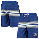Men's G-III Sports by Carl Banks Royal Chicago Cubs Assist Volley Swim Trunks