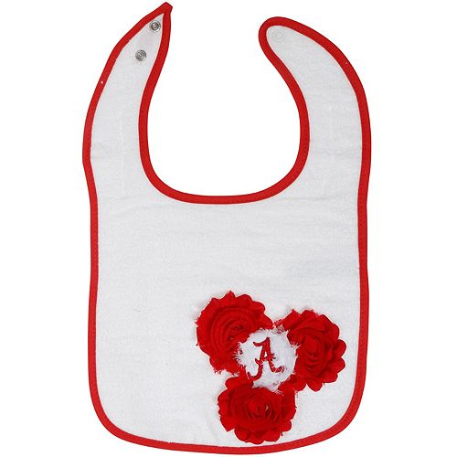 Newborn & Infant Alabama Crimson Tide UnFRAYgettable Baby Bib