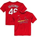 Toddler Nike Paul Goldschmidt Red St. Louis Cardinals Player Name & Number T-Shirt