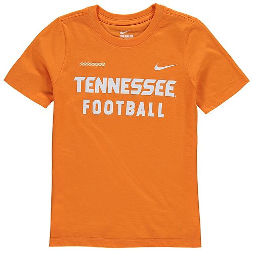 Youth Nike Tennessee Orange Tennessee Volunteers Core Facility T-Shirt